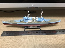 Warships of WWII 1:1000 King George V 1943 British warships Diecast model