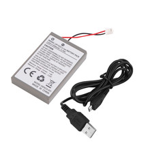 1pc 2000mAh Rechargeable Battery Pack for Sony Playstation PS4 Controller Cable Drop Shipping Wholesale Eletronic Hot