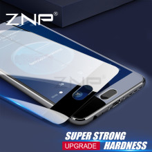 ZNP Tempered Glass For Samsung Galaxy A5 A7 A3 2016 Full cover Screen Protector For Samsung A7 A5 A3 2017 Protector glass Film(China)