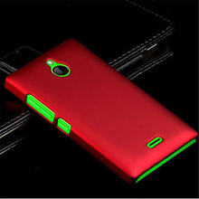 Fashion Matte Cases For Nokia X2 1013 X2DS Dual SIM RM-1013 4.3 inch Case Hybrid Hard Plastic Phone Case Accessories Back Cover