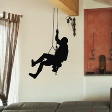 Rock Climbing Vinyl Wall Decal  Sport Gym Rock Climbing Mural Wall Sticker Bedroom Fitness Sticker Boys Room Home Decoration