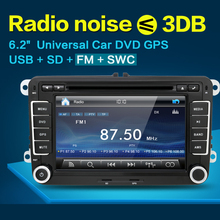 7 inch 2din VW Car DVD GPS PC Navigation for VW PASSAT B6 GPS Map radio stereo,bluetooth, FM/AM
