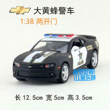 KINSMART Die Cast Metal Models/1:38 Scale/2014 Chevrolet Camaro Police toys/for children's gifts or for collections