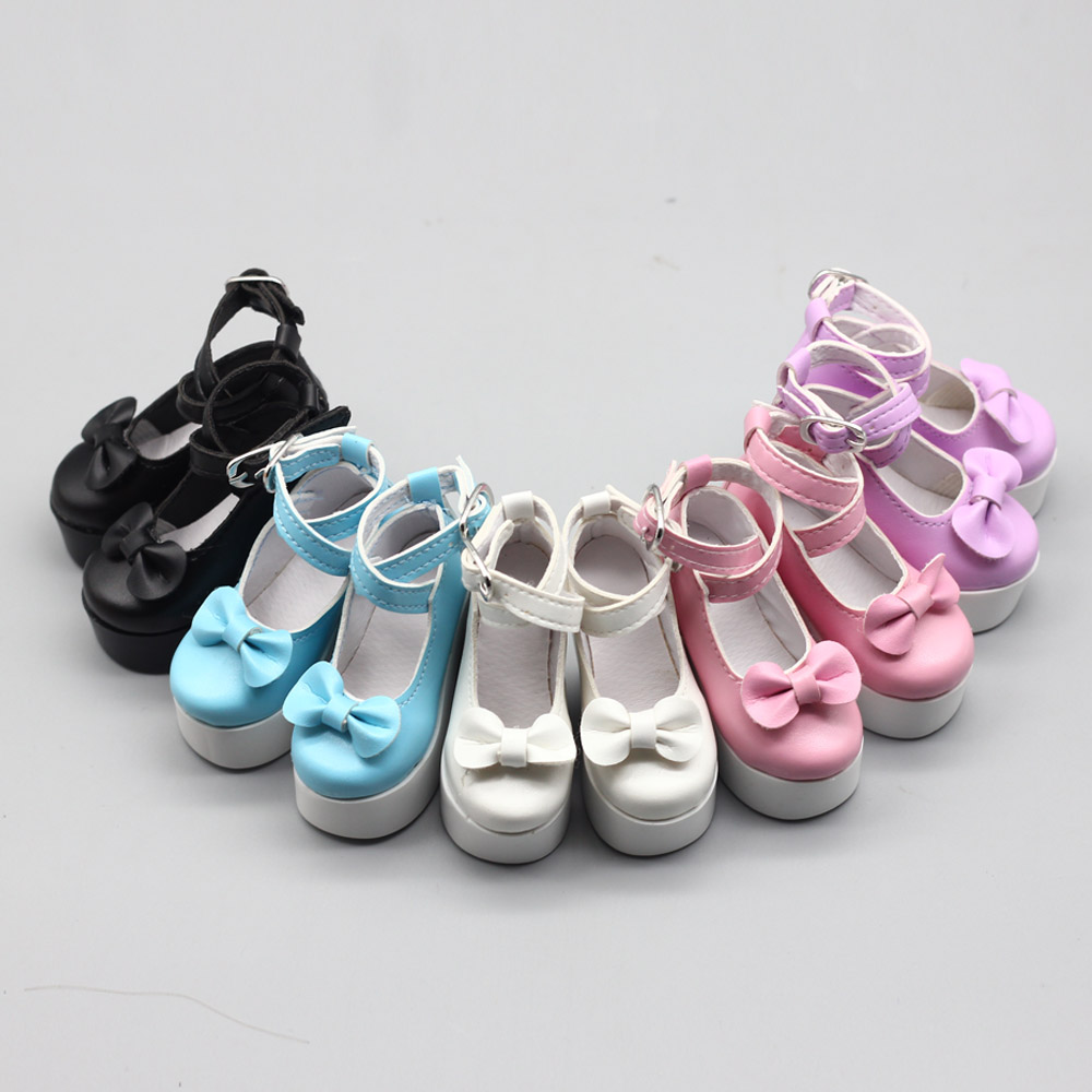 Fashion Doll PU High Heel Shoes for 1//3 BJD Girl Doll Clothes Accessory