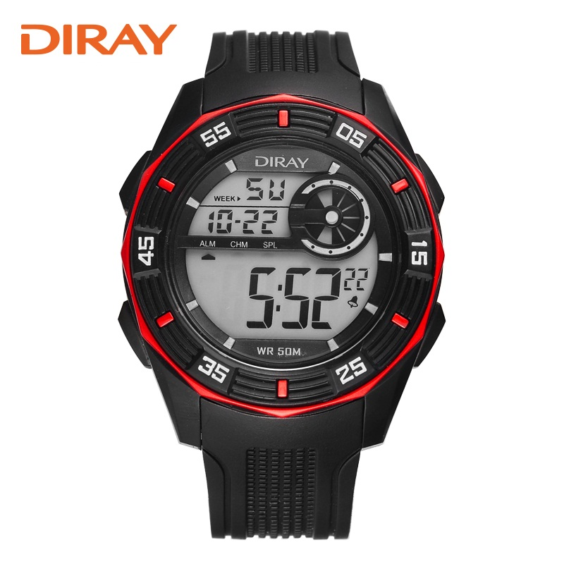 DIRAY Association of electronic watches sports students table luminous outdoor multifunctional swimming watch authentic male<br><br>Aliexpress