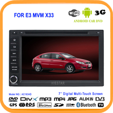 Bluetooth Car Stereo DVD Radio Player GPS navi 7'' Touch Screen 1024 Android 5.1 quad band tv WIFI 1.6G+16G For MVM X33 Chery E3