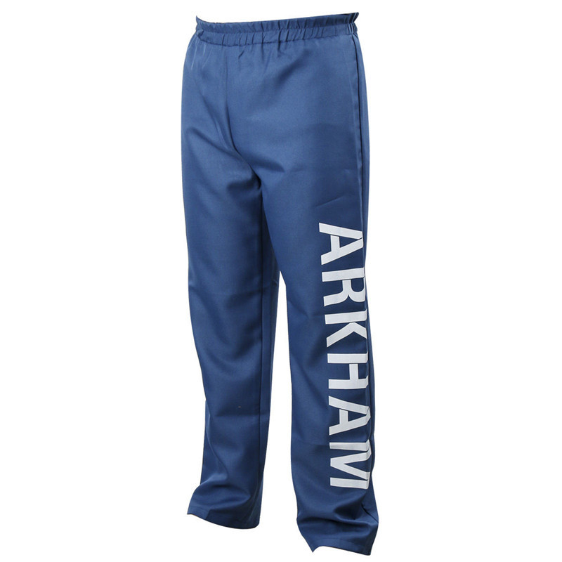 Suicide Squad Jared Leto Joker Arkham Trousers Halloween Cosplay Costume Pants-Takerlama