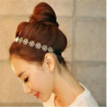 Wholesale/Retail Special female  hair accessories imported from Korea dish made of hollow rose hair band Free shipping
