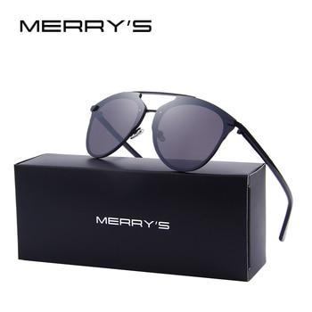Merry's marca designer mulheres cat eye sunglasses clássico tons s'8071