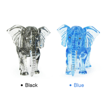 New 3D Crystal Elephan Shape Building Crystal Puzzle Model DIY Star Intellectual Furnish Gadg Toys Jigsaw Early Education Puzzle