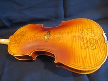Strad Style SONG Brand meastro inlay shell /double strip violin 4/4 #11726(China)