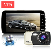 "4.0"" IPS auto car camera dvr cars dvrs camcorder parking recorder video registrator carcam dash cam full hd 1080p night vision(China)"