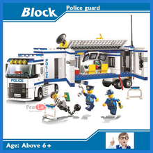 10420 Compatible Lepin City building brick Police Mobile Police Unit building blocks Action Figures Model toys for children