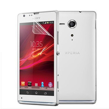 Drop Shipping Power Support Anti-Glare Screen  Protector Film Set for Sony Xperia SP M35H/ M35C/ C5303