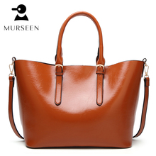 Women Tote Bag Leather Casual Bags Big Capacity Woman Brown Shoulder Bag Large Ladies Shopping Bags Soft handbag female bolsa MX