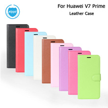 For Huawei Y7 Prime Leather Case Cover Flip With Wallet Style Smartphone Protective Skin Cover Case for Huawei Y7 Prime In Stock(China)