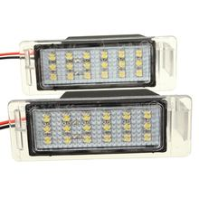 2Pcs Error Frenn 18 LED SMD License Plate Light Number Plate Lamp For Chevy Camaro/Cruze