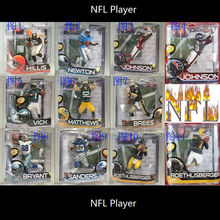 Animation Garage Kid Collection Baby Toys: Action Figure PVC Dolls Good NFL Player NFL Series 28 Newton Vick Model Best Gifts