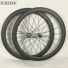 Hot selling carbon wheels 50mm tubular and clincher fast delivery 700c bicycle wheel personal design available bicycle wheel