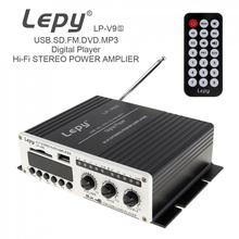 Buy LEPY V9S Digital 2CH 20W x 2 Bluetooth HI-FI Audio Player Car Amplifier FM Radio Stereo Player Support SD USB MP3 DVD Input for $32.50 in AliExpress store
