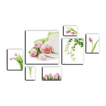 Joy Sunday cross stitch kits tulip(septuplicate) DMC14CT11CT cotton fabric livingroom dininghall deco painting factory wholesale(China)