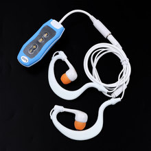 kebidu MP3 Music Player FM 4GB Clip Waterproof IPX8 Mp3 FM Swimming Diving + Earphone Slick stylish Protable for Sport Compact(China)