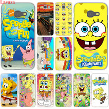 Lavaza SpongeBob SquarePants Sponge Bob Case Cover for Samsung Galaxy A3 A5 J3 J5 J7 2015 2016 2017 & Grand Prime Note 2 3 4 5