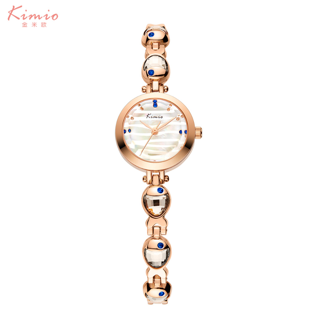 2017 New KIMIO Alloy Watches Venus Fish Fresh and Unique Literally Watch for Rose Gold Bracelet Watch montre femme<br><br>Aliexpress