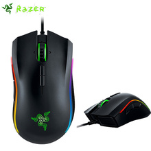 Razer Mamba Tournament Edition 16000DPI Gaming Mouse , 5G Laser Sensor Chroma Light Ergonomic Computer Game Mouse,with package