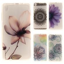 Buy Soft TPU IMD Capa Case 5.0For Coque Lenovo S850 case Fundas Lenovo S 850 S850 S850T Flower Painting Clear Transparent Case for $1.59 in AliExpress store