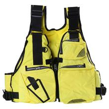 1Pcs Life Jacket Adult Children Vest Life Safety Jacket Swimming Sailing Floating Waistcoat Survival Safety Jacket Water New(China)
