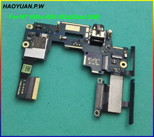 HAOYUAN.P.W New motherboard volume button Audio Jack Flex Cable Main Board For HTC ONE M7 Dual SIM Version ( 802w 802t 802d )(China)