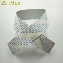 4pcs/lot For Epson DX7 head cable 29pins for Eco solvent plotter Mimaki JV34/TS34/JV300/JV150 data cable
