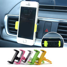 360 Angle Universal Car Air Vent Mount Holder Mobile Phone Stand Cradle For Phone Cellphone GPS