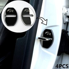 Stainless Steel car covers Door lock cover case for seat leon ibiza altea Alhambra accessories car styling