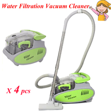 4pcs/lot 1600W 6L Water Filtration Vacuum Cleaner Washing Wet Dry Vacuum Cleaner for Home Dust Mite Collector VC9001