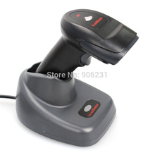 SH-5000-2D Portable 433MHz Wireless Barcode Scanner Handheld 2D Bar Code Scanner W/ Stand USB Scanner Wireless 1D/2D