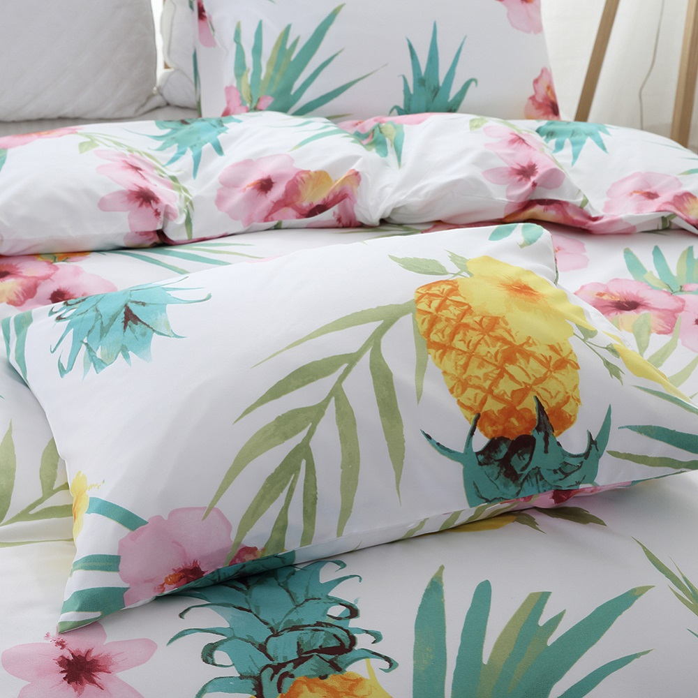 pineapple bedding set (2)