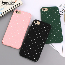 Buy JAMULAR Spot Hard Phone Cases iPhone 8 6 6s Plus Cases Matte Plastic Covers iPhone 7 8 Plus Cover Capa Fundas Coque for $1.79 in AliExpress store