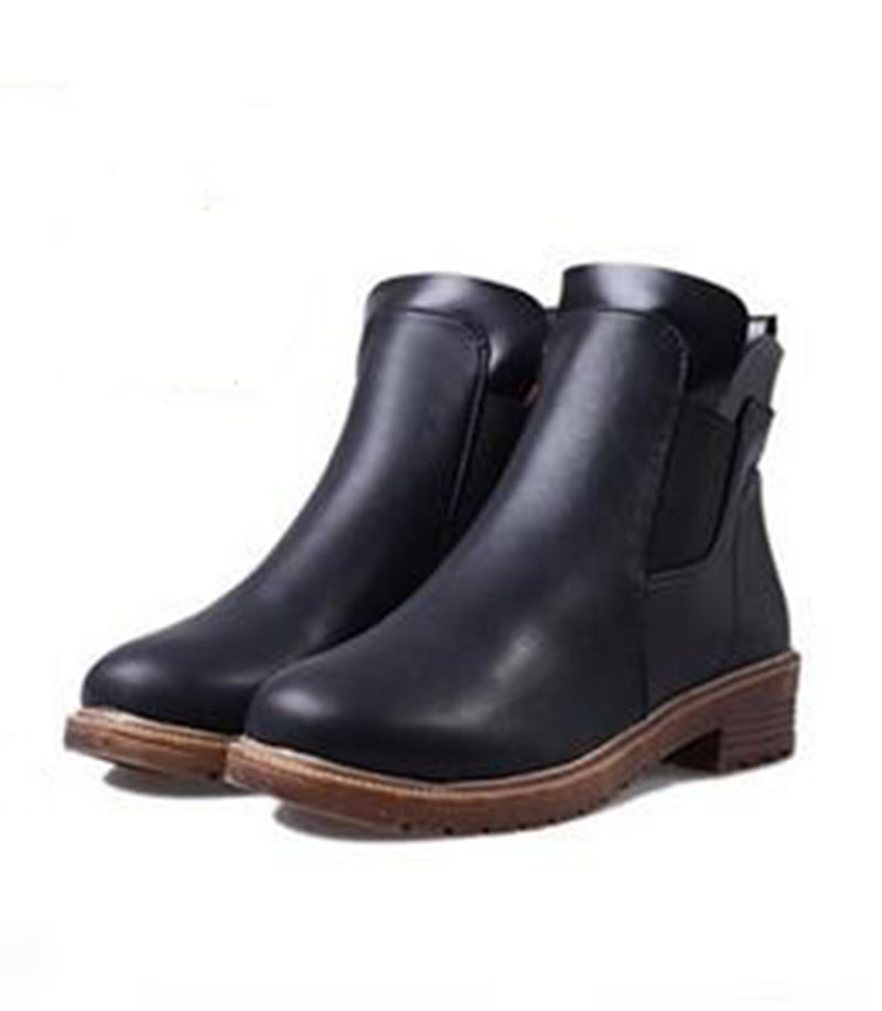 2017 New Womens Fashion Boots Casual Boots Classic Brown Color Shoes For Women PU Material Shoes .DFGD-3721<br><br>Aliexpress