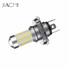 JIACHI 2 x Factory wholesale Led Auto Spares Parts H4/9003 led Fog Light With Lens 3014chip 144smd CE and ROHS(China)