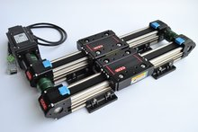 CCM W50-25 1000mm Compact belt driven linear motion units rails with radial ball bearing sliders linear guide rail motion