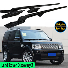 For Land Rover Discovery 3 LR3 2005-2009 Roof Rack Rails Bar Luggage Carrier Bars top Racks Rail Boxes Aluminum alloy