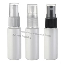 Free shipping - 50pcs/lot 20ml plastic perfume bottle, 2/3oz white Pet spray  bottle,cosmetic packaging, cosmetic container