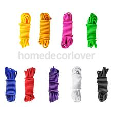 4mm x 10 Meters Strong Elastic Bungee Rope Shock Cord Tie Down DIY Various Color High Quality(China)