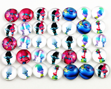 Hot Sale 50pcs 12mm 10mm New Fashion Mixed Emoticons Handmade Photo Glass Cabochons Pattern Domed Jewelry Accessories Supplies(China)