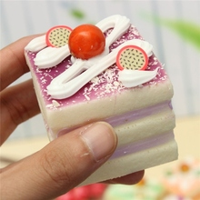 Portable Cup Cake Bread Phone Straps Shaped Soft Toy Lovely Magnet Cartoon Simulation Cellphone Charm Pendant Decor Ornament