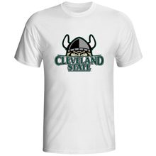 Vikings Vilpas Cleveland State Cool Design TShirt Funny T-shirts Fashion TV Show Boy Men Short Sleeve Dropship Clothes Tops Tees