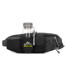 Outdoor water bottle pockets mountain running mobile phone purse leisure sports bag purse manufacturers selling men and women