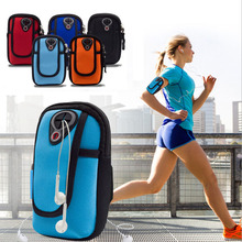 Running Sport Arm Wrist Mobile Phone Case Cover Hand Bag Bracelet For Oneplus 3 Meizu M3/Note/M3s/Mini Fitness Waterproof Pouch